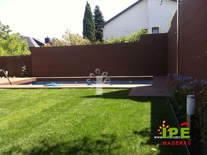 Tarima para piscinas tarima de exterior piscinas - Vallas jardin baratas ...