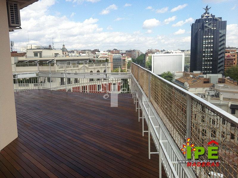 Precios de tarimas de madera ITAUBA para exteriores - Comprar tarima madera ITAUBA al mejor precio