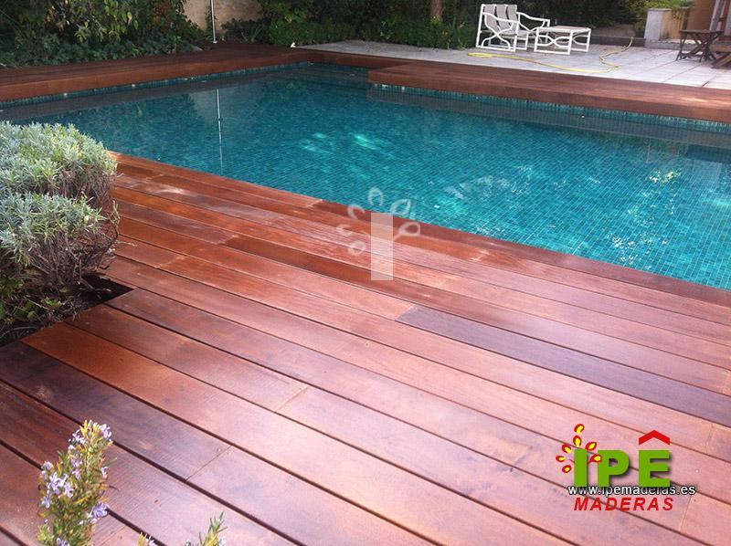 Tarima para piscinas tarima de exterior piscinas - Tarimas de madera para jardin ...