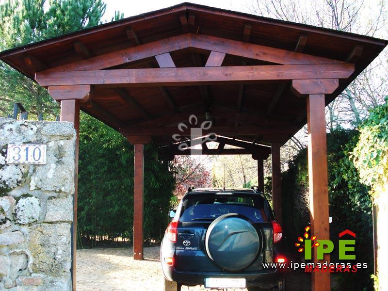 Venta de garajes de madera garajes a medida ipe maderas - Pergolas para garajes ...