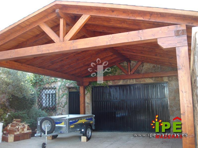 Venta de marquesinas de madera ipe maderas - Garajes prefabricados precios ...