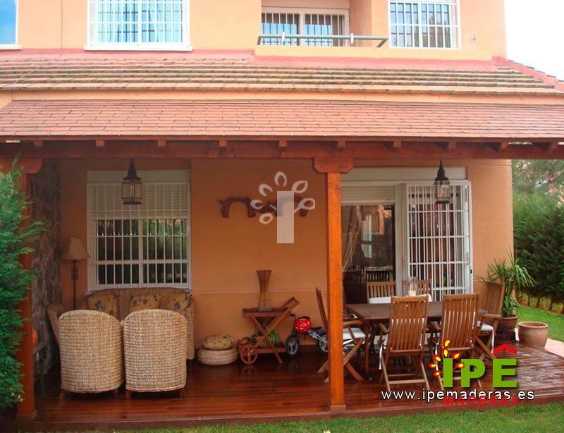Porches de madera venta e instalaci n ipe maderas - Fotos de porches ...