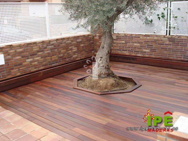 Tarima sint tica ipe maderas for Ipe madera exterior