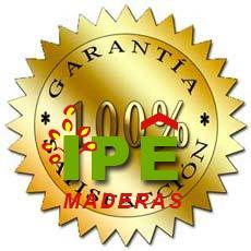 garantia de IPE Maderas - condiciones de garantía