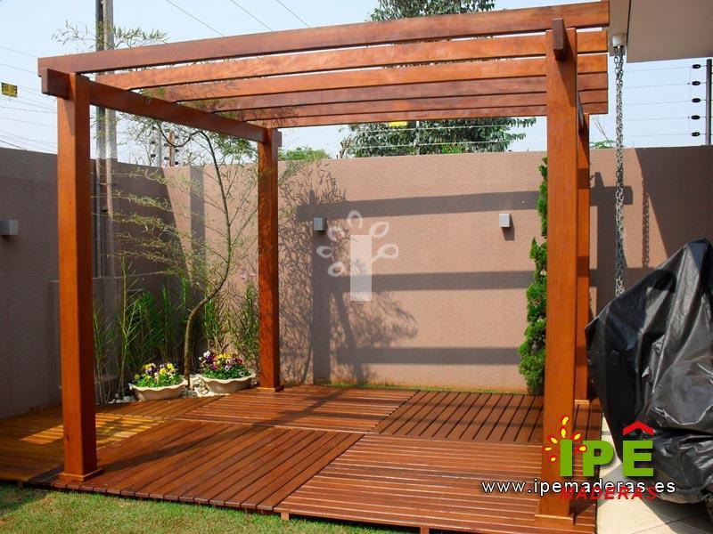 P rgolas de madera venta e instalaci n de p rgolas ipe for Pergolas de madera precios