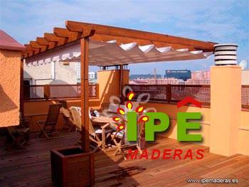 Fotos de pergolas de madera para terrazas example - Pergola terraza atico ...