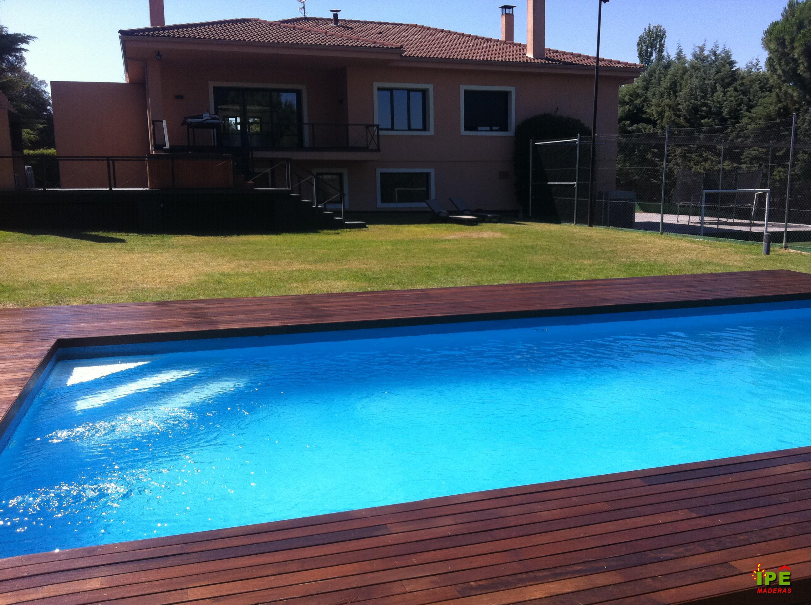 Precios Tarima para Piscinas - Venta de Tarimas de Piscina | Ipe Maderas