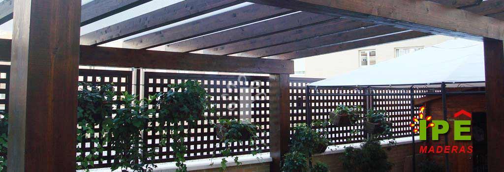Ipe maderas venta e instalaci n de exteriores en madera for Barandillas de madera para jardin