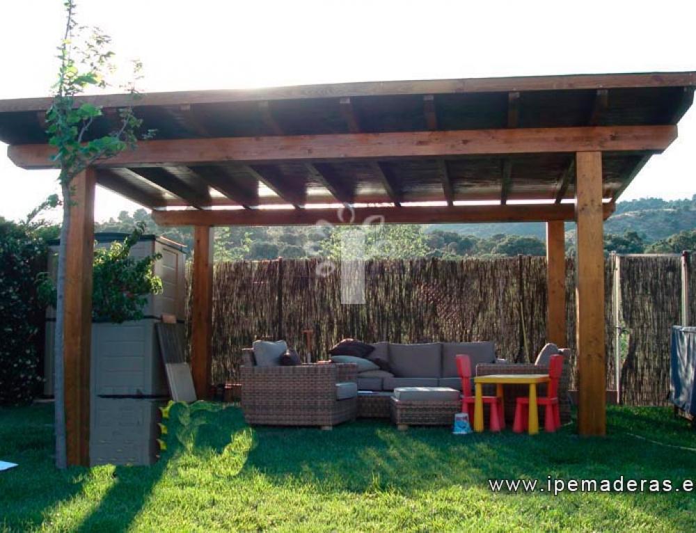 Por qu instalar cenadores de madera en tu casa ipe - Cenadores de madera ...