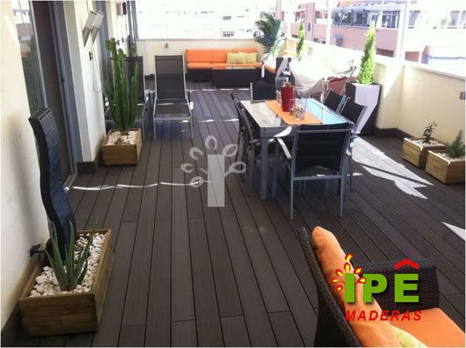 3 proyectos de tarima ipe ipe maderas - Pergola terraza atico ...
