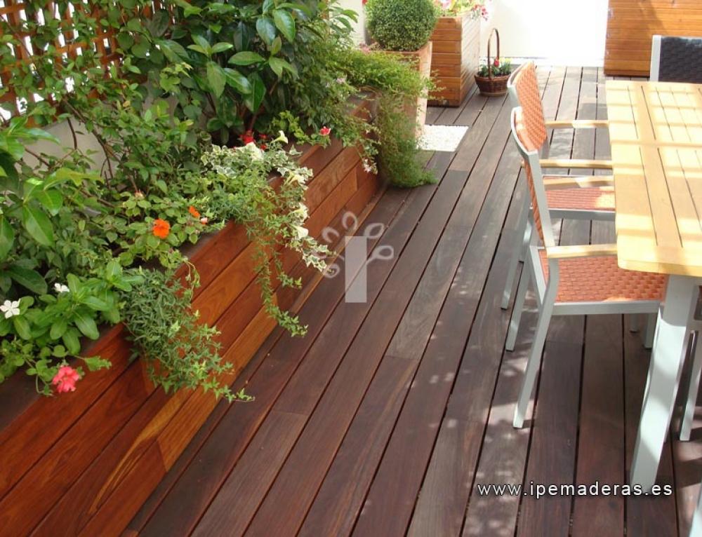 ¿Por qué escoger una tarima de madera exterior?