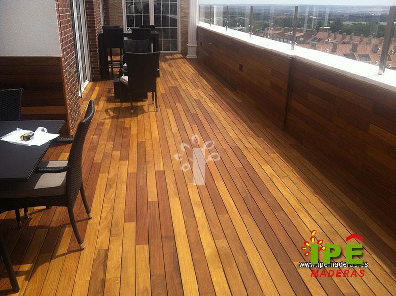 Tarima ipe por qu escogerla ipe maderas for Piscina en terraza peso maximo