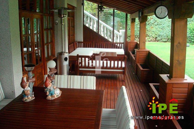 Venta de porches de madera porches a medida ipe maderas - Madera para porches ...