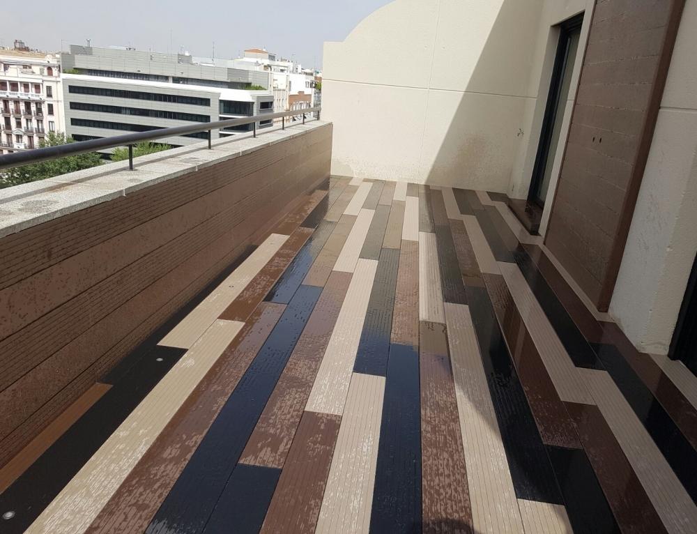 Nuevos proyectos de tarima de madera exterior