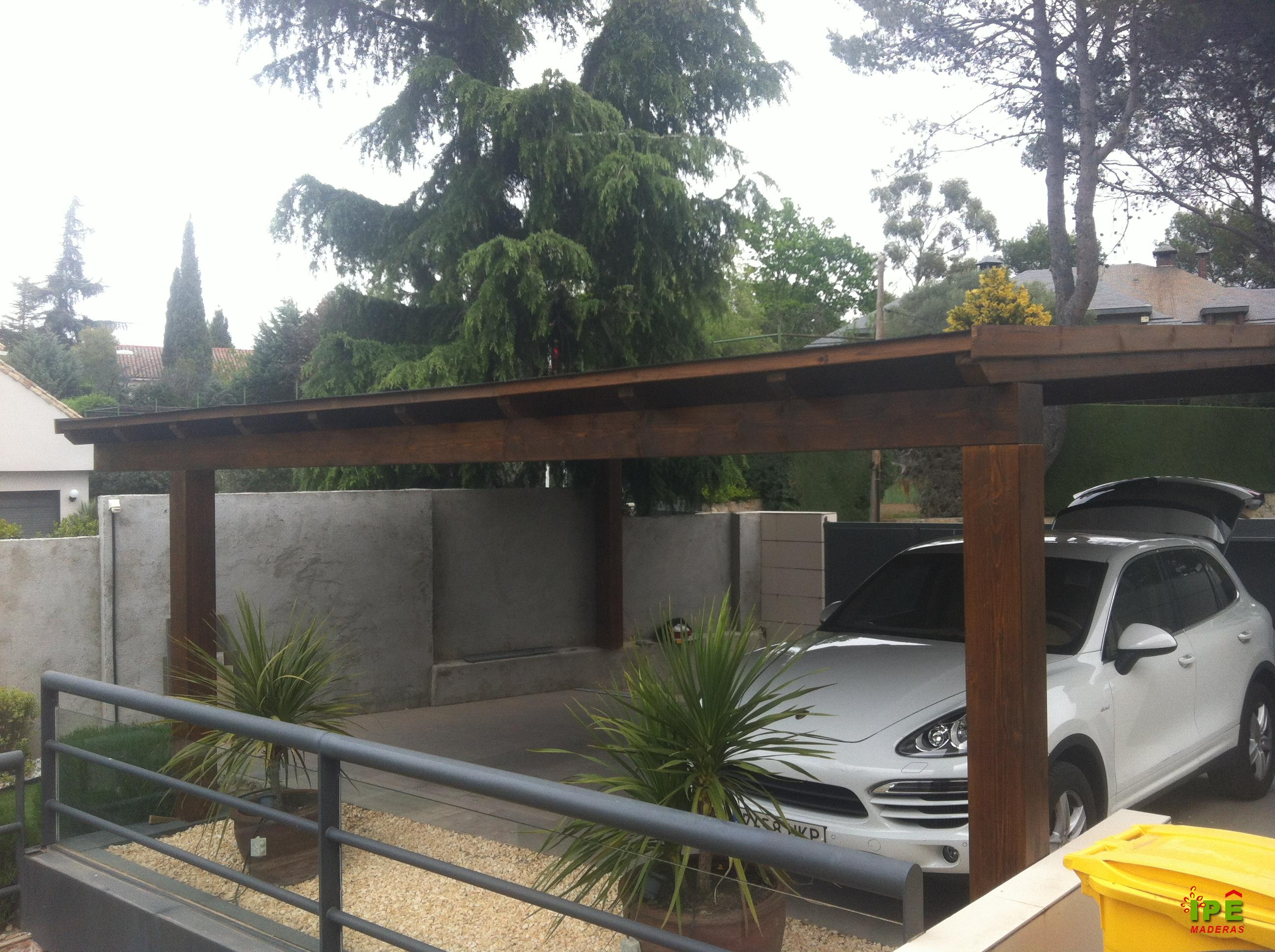 3 nuevos proyectos de porches de madera en ipe ipe maderas - Porches para coches ...
