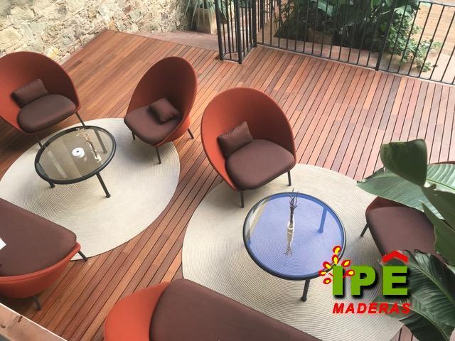 Precios de tarimas de madera IPE para exteriores - Comprar tarima IPE al mejor precio