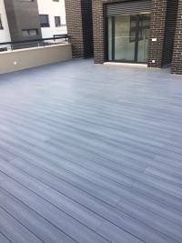 tarima sintética color gris